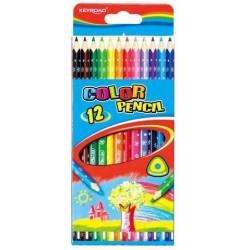 7 crayons de couleur double...