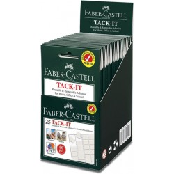 25 Tack-IT Faber Castell