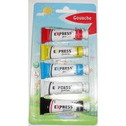 Gouaches 10 ML 5 Tubes de...
