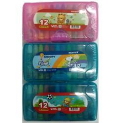 Boite de 12 Oil Pastels crayon