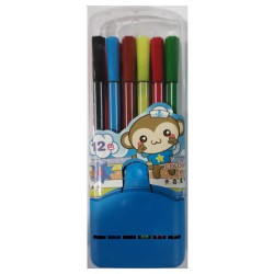 12 pcs Mini Colour Pen with...