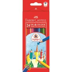 Boîte DE 24 Faber Castell...