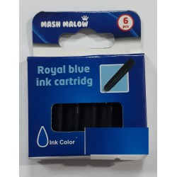 Encre bleue royale cartouche