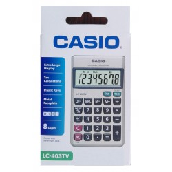 CALCULATRICE PORTABLE CASIO...