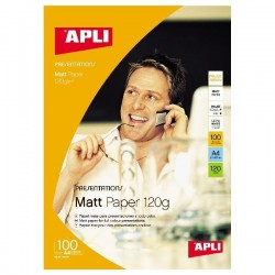 Papier photo APLI Mat - A4...
