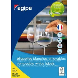 Etiquettes adhesives AGIPA...