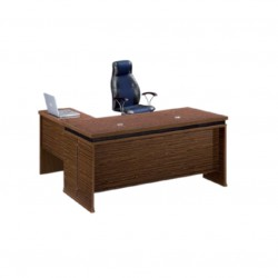 bureau en bois melaminé Dim...