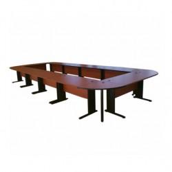 Table de réunion en bois...