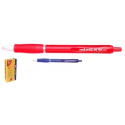 Stylos Gel Ink Pen Molin rouge