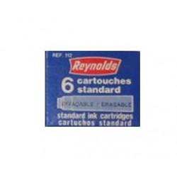 Cartouches Encre Bleu Reynolds