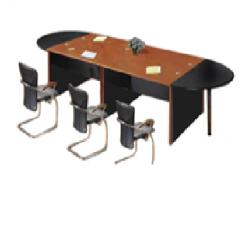 TABLE DE RÉUNION EN BOIS 8...